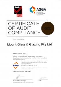 AGWA Certificate